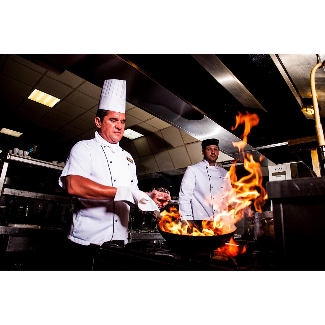 Odzież gastronomiczna dla kucharzy